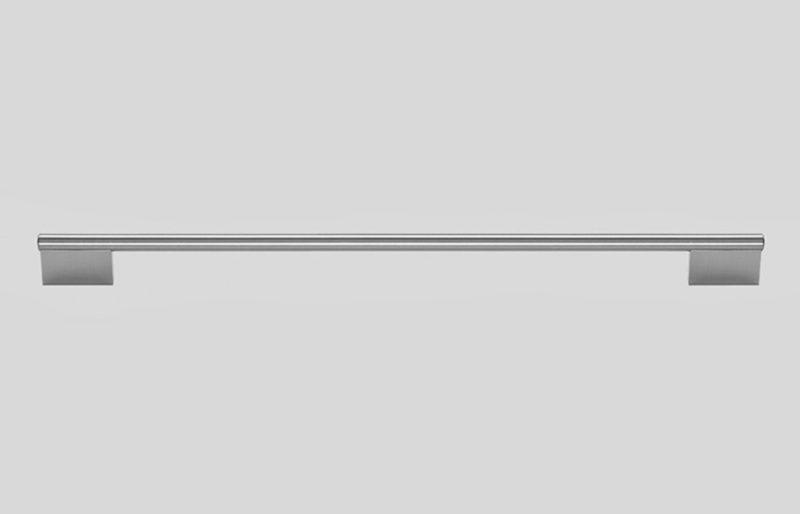 R370 Relingstange Edelstahlfarbig